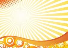 Grunge halftone background. Vector illustration Royalty Free Stock Photo