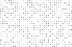 Grunge halftone background. Digital gradient. Dotted pattern with circles, dots, point small and large scale. Design element for web banners, posters, cards Royalty Free Stock Image
