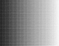 Grunge halftone black and white background. Vector illustratoin with halftone dots texture for popart, trends design.  royalty free illustration