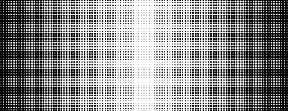 Grunge halftone black and white background. Vector illustratoin with halftone dots texture for popart, trends design.  Royalty Free Stock Images