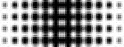 Grunge halftone black and white background. Vector illustratoin with halftone dots texture for popart, trends design.  Stock Photo