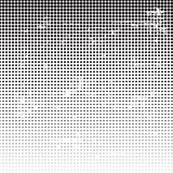 Grunge halftone dotted background Stock Image