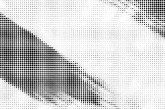Grunge halftone paint strokes background Royalty Free Stock Photo