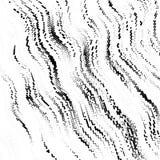 Grunge halftone wzór Pointylizm, stipplism styl Textured tło z kropkami, okręgi, punkty różna skala royalty ilustracja