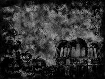 grunge Halloween Zdjęcie Royalty Free