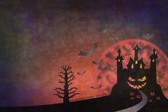 grunge Halloween royalty ilustracja