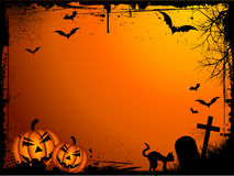 Grunge Halloween background Royalty Free Stock Image