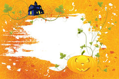 Grunge halloween background Royalty Free Stock Photography
