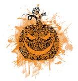 Grunge halloween background. Stock Image