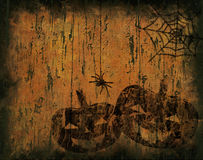 Grunge halloween background Royalty Free Stock Images