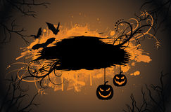 Grunge halloween background. Royalty Free Stock Photography