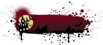 Grunge halloween background Stock Photo