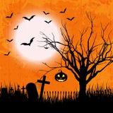 Grunge halloween background Royalty Free Stock Photo