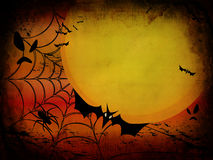 Grunge Halloween Card Or Background Royalty Free Stock Photos