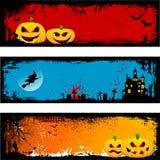 Grunge Halloween Hintergründe stock abbildung