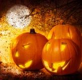 Grunge Halloween Hintergrund Lizenzfreies Stockbild