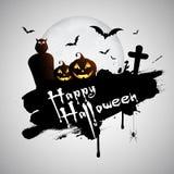 Grunge Halloween Hintergrund Lizenzfreies Stockfoto