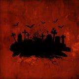 Grunge Halloween Hintergrund Stockfotos