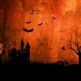 Grunge Halloween Hintergrund vektor abbildung