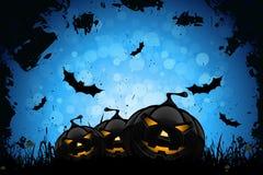 Grunge Halloween Party-Hintergrund Lizenzfreie Stockfotos