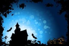 Grunge Halloween Party-Hintergrund Lizenzfreie Stockfotografie