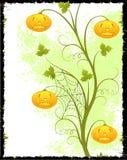 Grunge Halloween tło Zdjęcia Royalty Free