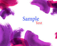 Grunge hand drawn watercolor background Royalty Free Stock Photography