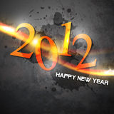 Grunge happy new year. Vector grunge style new year art Royalty Free Stock Image