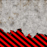 Grunge hazard borders Royalty Free Stock Photos