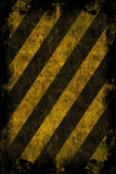Grunge Hazard Stripes Royalty Free Stock Photos