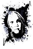 Grunge Head Stock Image