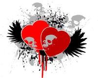 Grunge heart Royalty Free Stock Image