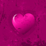 Grunge heart background Stock Photos