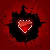 Grunge heart background Royalty Free Stock Image