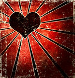 Grunge heart background Royalty Free Stock Image