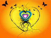 Free Grunge Heart Graphic Royalty Free Stock Photography - 5136377