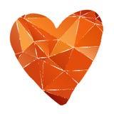 Grunge heart-05 stock illustration