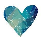 Grunge heart-04 vector illustration