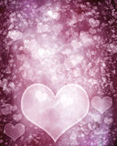 Grunge hearts background. Grunge hearts over textured background Royalty Free Stock Photography