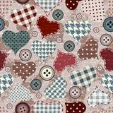 Grunge hearts background Stock Photography