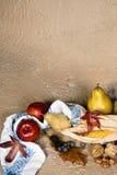 Grunge Herbstfrüchte stockbild