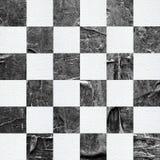 Grunge? hess textured abstrakcjonistyczny w kratkę bezszwowy wzór royalty ilustracja