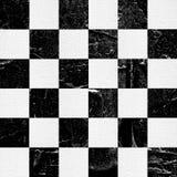 Grunge? hess textured abstrakcjonistyczny w kratkę bezszwowy wzór Obrazy Royalty Free