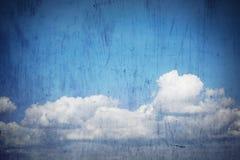 Grunge Himmel-Hintergrund Stockfotos