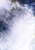 Grunge Hintergrund-Blau Stockbild
