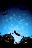 Grunge Hintergrund für Halloween-Party Lizenzfreie Stockfotos