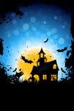 Grunge Hintergrund für Halloween-Party Stockbild