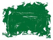 Grunge Hintergrund mit Blättern stock abbildung