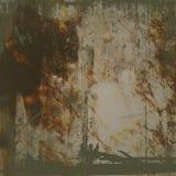 Grunge Hintergrund mit Brown-Fleck Stockfotografie