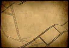 Grunge Hintergrund - symbolisch das Bild eines Filmes Lizenzfreies Stockbild